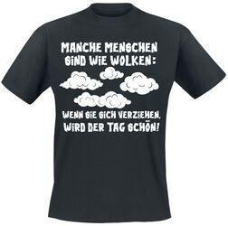 Manche Menschen sind wie Wolken