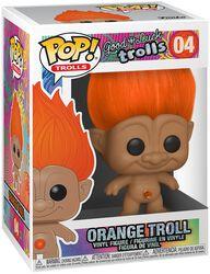 Orange Troll Vinyl Figur 04