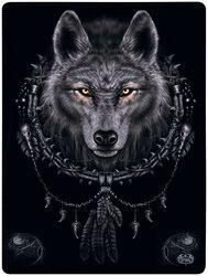 Wolf Dreams Fleecedecke