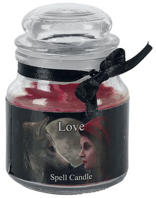 Love Spell Candle - Rose