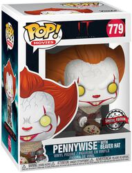 Teil 2 - Pennywise with Beaver Hat Vinyl Figure 779