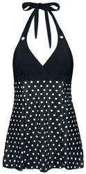 Mixed Dotties Triangle Swimsuit