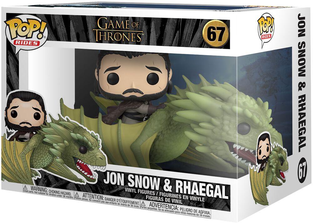 Jon Snow und Rhaegal (Pop Rides) Vinyl Figur 67