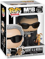 Agent K and Neeble Vinyl Figure 716