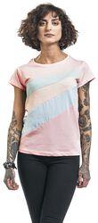 Ladies Diagonal Stripes Shirt