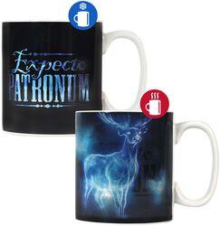 Expecto Patronum - Tasse mit Thermoeffekt