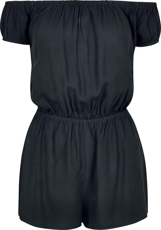 Ladies Off Shoulder Short Jumpsuit