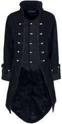Pirate Coat Black Velvet