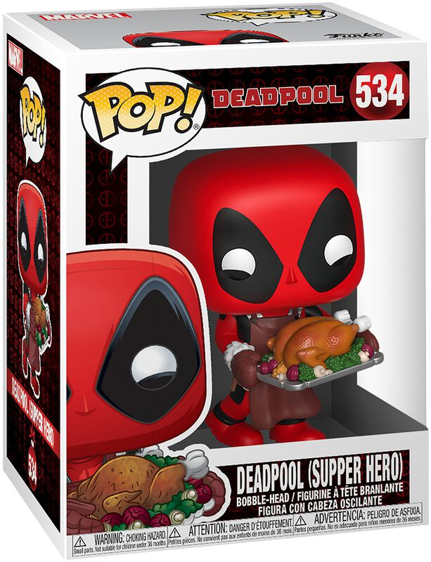 Deadpool (Supper Hero) (Holiday) - Vinyl Figure 534