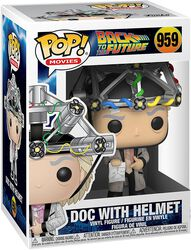Doc with Helmet Vinyl Figur 959