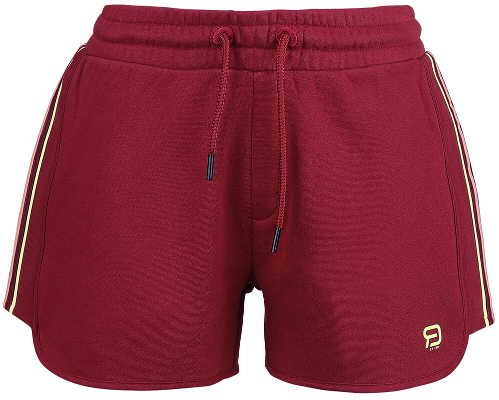RED X CHIEMSEE - rote Shorts mit Logoprint