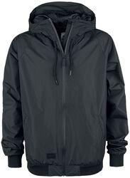 Hooded Rib Jacket