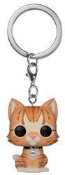 Goose the Cat Pocket POP! Keychain