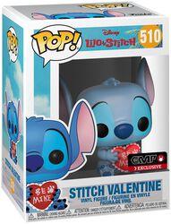 Stitch Valentine Vinyl Figure 510