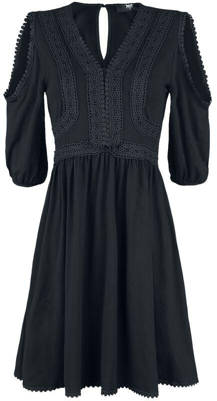 Kleid im Boho-Stil Black Premium
