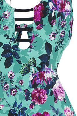 Floraler Monokini