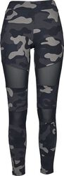Ladies Camo Tech Mesh Leggings