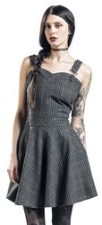 Miss Morbid Tartan Overall Dress