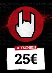 Kauf- und Wertgutschein 25,00 EUR
