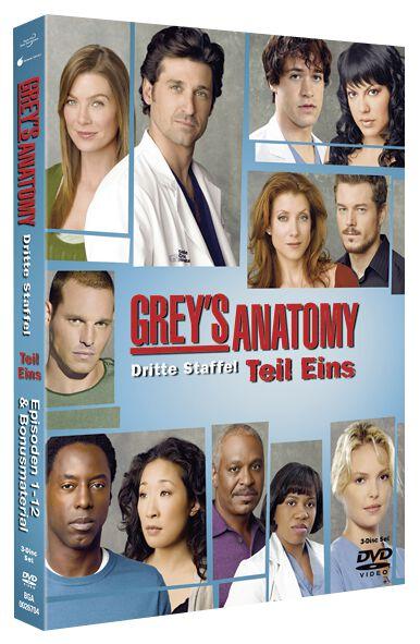 Season 3 - Part 1   Grey\'s Anatomy: Die jungen Ärzte DVD   EMP