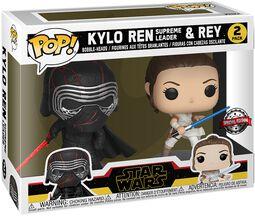 The Rise of the Skywalker - Kylo Ren (Supreme Leader) & Rey Vinyl Figur 2er Pack