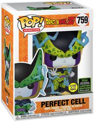 Z - ECCC 2020 - Perfect Cell (GITD) Vinyl Figur 759