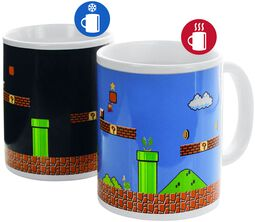 Super Mario - Tasse mit Thermoeffekt