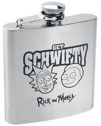 Get Schwifty - Flachmann