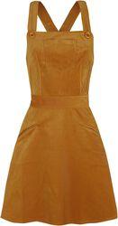 Katie Corduroy Overall Dress