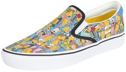 The Simpsons - Springfield ComfyCush Slip-On