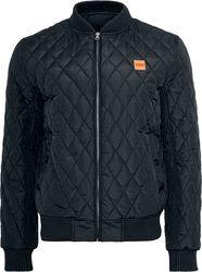 Diamond Quilt Nylon Jacket