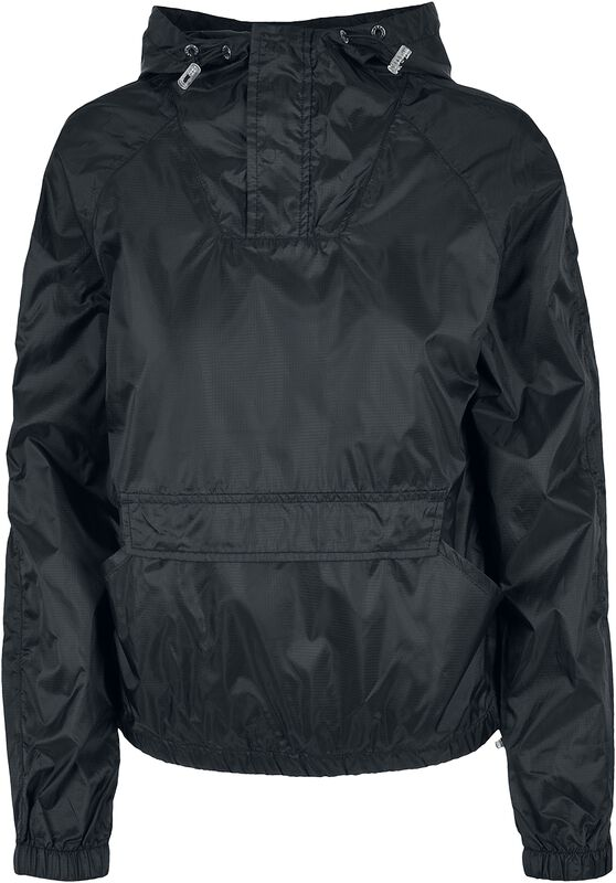 Ladies Transparent Light Pull Over Jacket