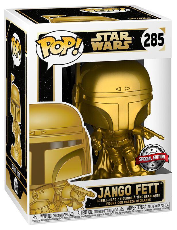 Jango Fett (Gold Metallic) Vinyl Figur 285