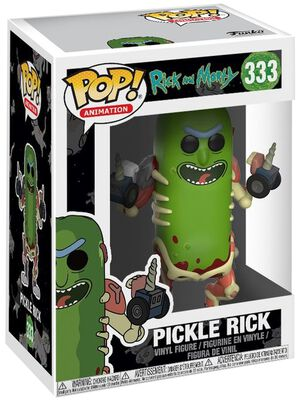 Pickle Rick Vinyl Figure 333