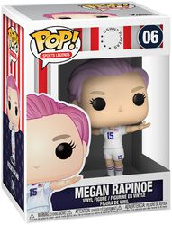Football US Women's National Team - Megan Rapinoe (Sport Legends) Vinyl Figur 06