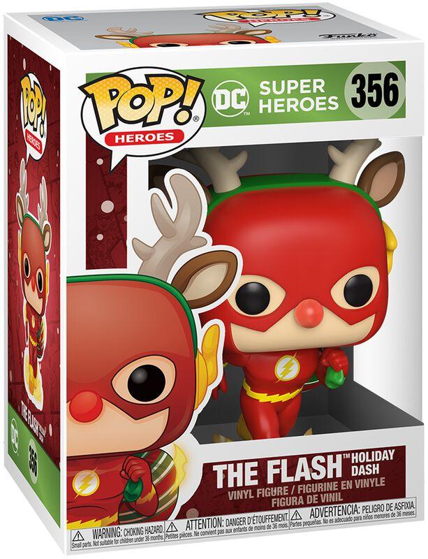 The Flash Holiday Dash (Holiday) Vinyl Figur 356