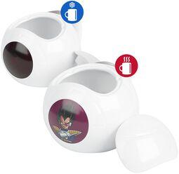 Vegeta Spaceship - Tasse mit Thermoeffekt