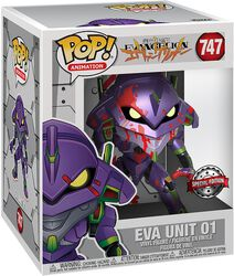 Eva Unit 1 (Oversized) (Metallic) Vinyl Figur 747