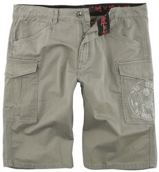 Graue Army Shorts