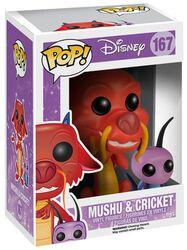 Mushu und Cricket Vinyl Figure 167