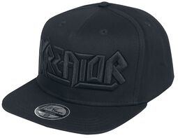 Black on Black Logo - Snapback