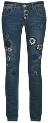 Flower Patches Jeans