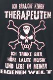 Ich brauche keinen Therapeuten ...