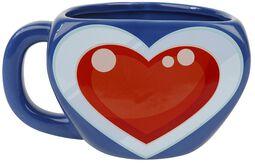 Herzteil - 3D Tasse