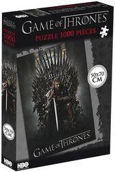 Ned Stark auf eisernem Thron (1000 Teile)