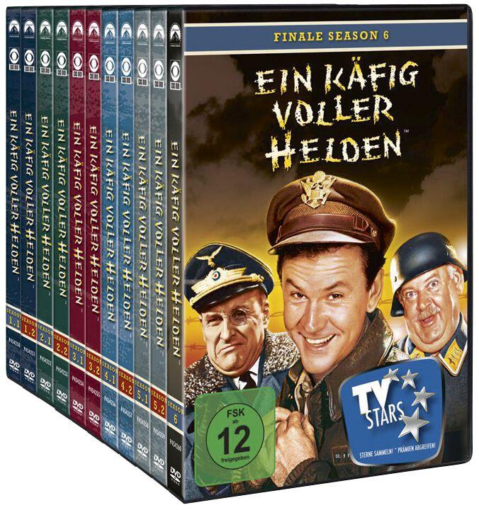 Season 1 6 Die Komplette Serie Ein Käfig Voller Helden Dvd Emp