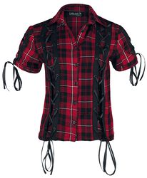 Corded Checked Shirt
