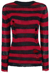 Fredy's Destroyed Stripe Sweater