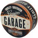 Garage - Vorratsdose rund