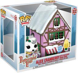 Peppermint Lane - Alice Cranberry with Crescent Moon Diner  (Pop! Town) (Funko Shop Europe) Vinyl Figure 02